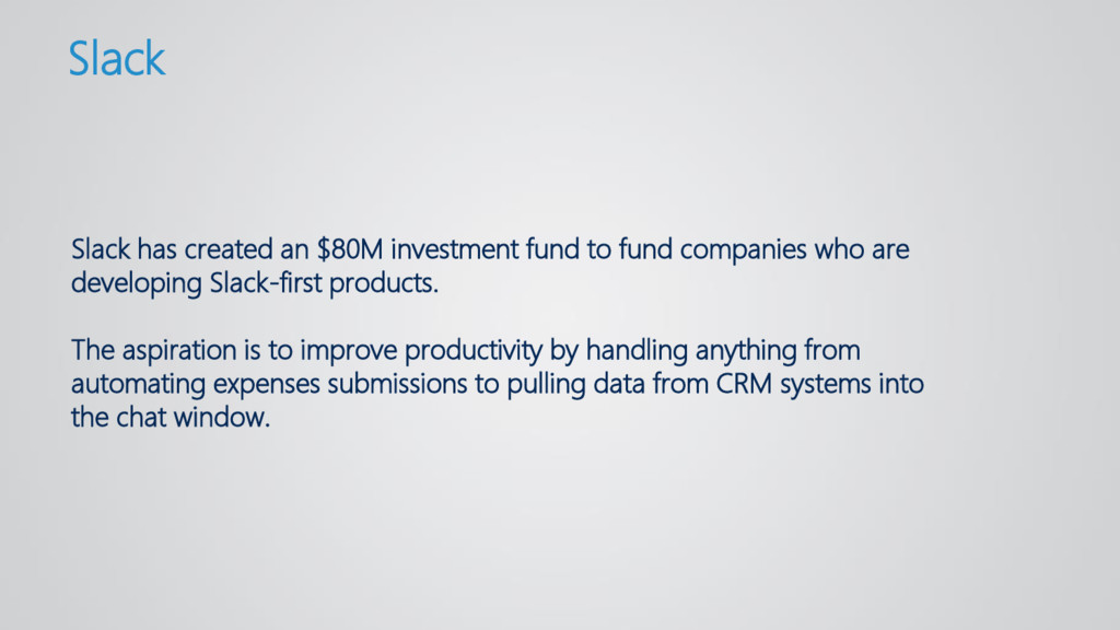 Slack has created an $80M investment fund to fu...