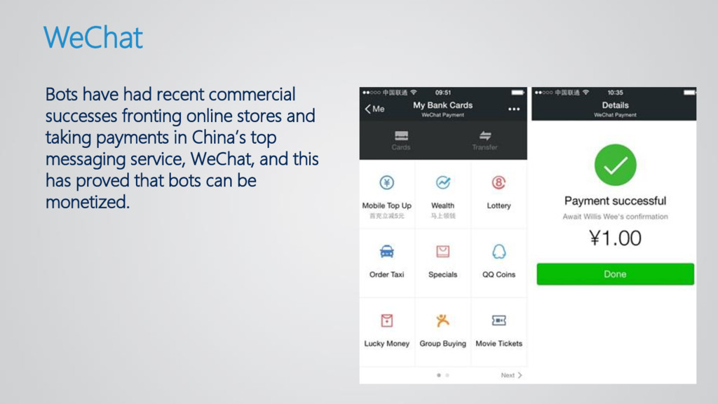 Bots have had recent commercial successes front...