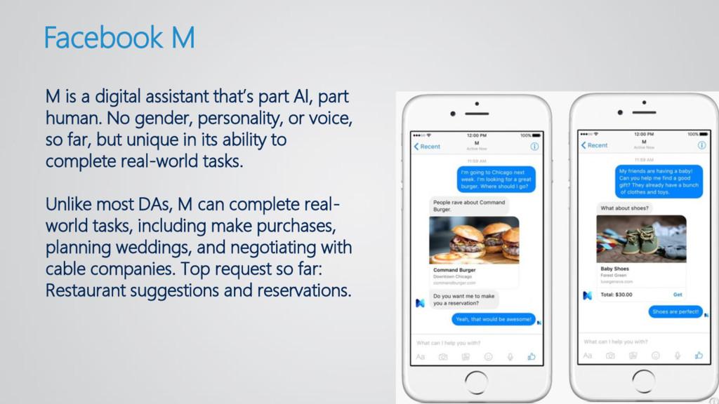 M is a digital assistant that's part AI, part h...