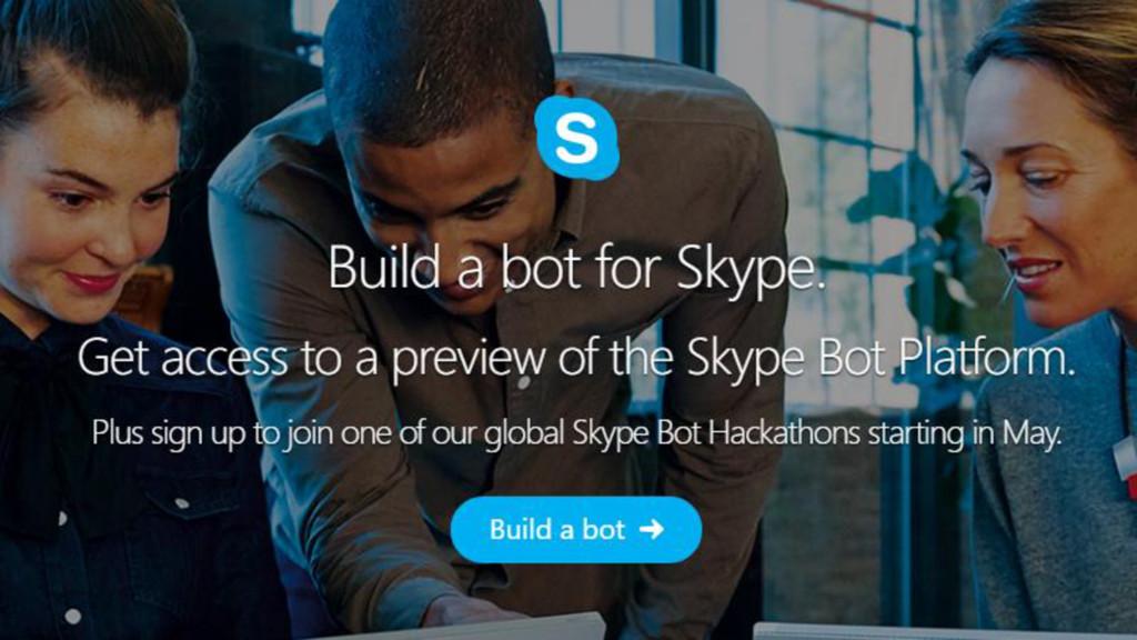 Bots. Now in Skype.