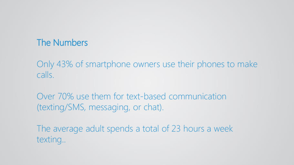 The Numbers Only 43% of smartphone owners use t...
