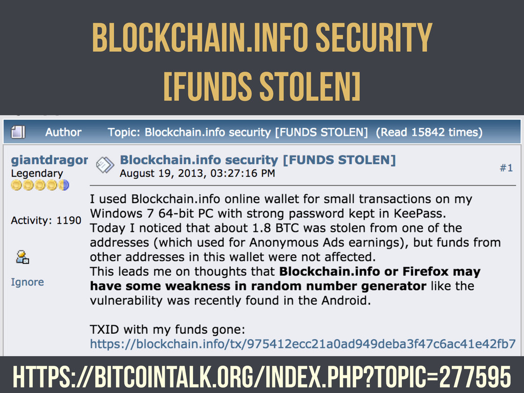 https://bitcointalk.org/index.php?topic=277595 ...