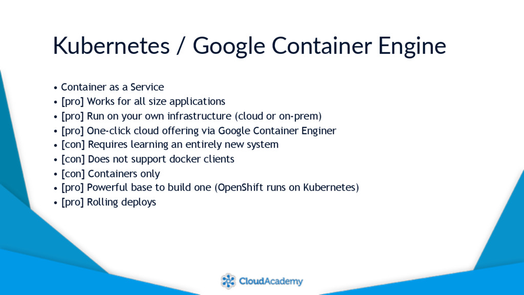 Kubernetes / Google Container Engine • Containe...