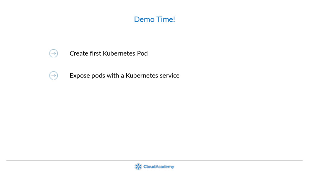 Demo Time! Create first Kubernetes Pod Expose p...