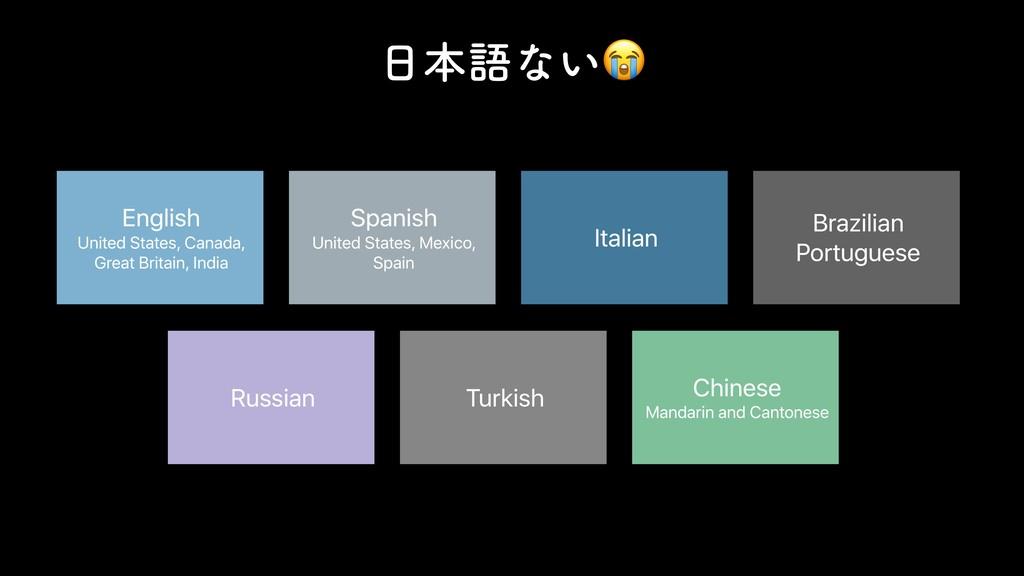 ຊޠͳ͍ On-Device Language Support English Unite...