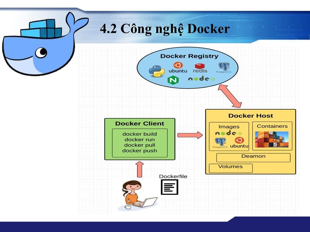 4.2 Công nghệ Docker
