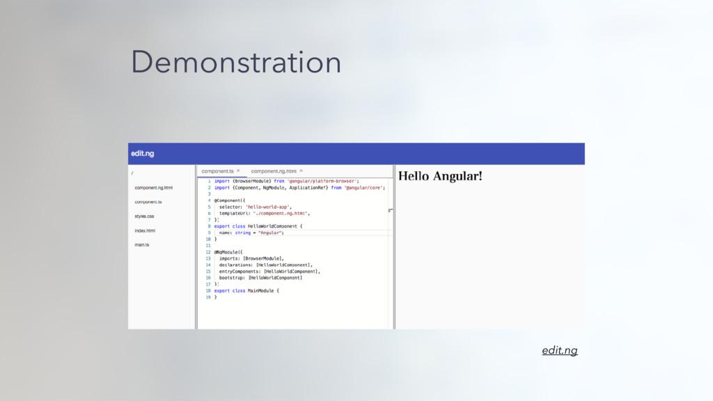 Demonstration edit.ng