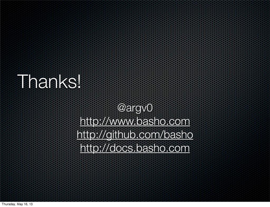 Thanks! @argv0 http://www.basho.com http://gith...