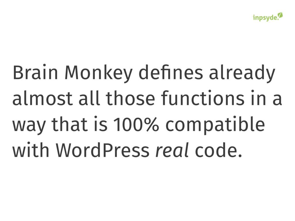 Brain Monkey defines already almost all those fu...
