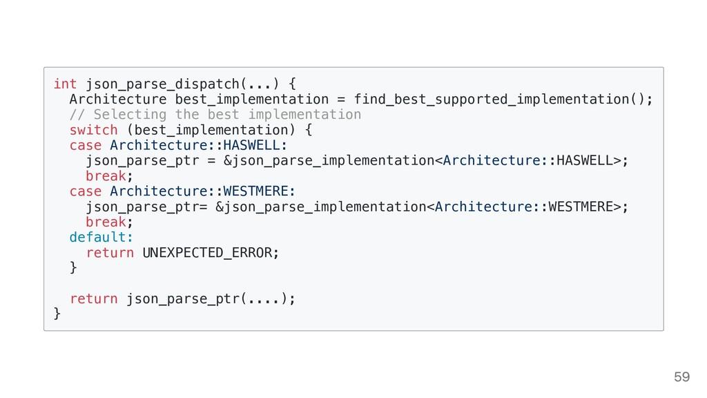 int json_parse_dispatch(...) { Architecture bes...