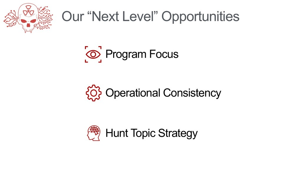 "Our ""Next Level"" Opportunities Operational Cons..."
