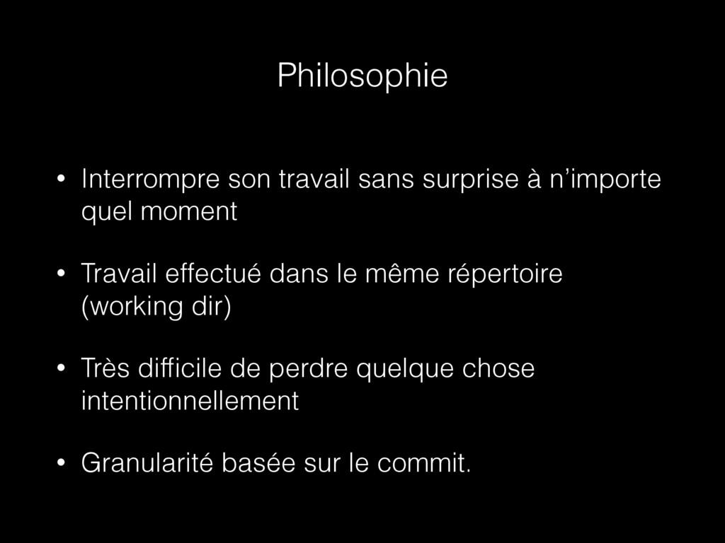 Philosophie • Interrompre son travail sans surp...