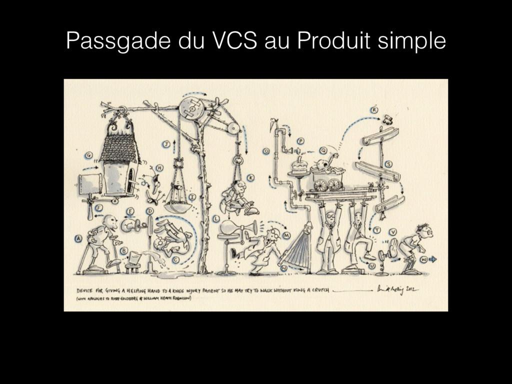 Passgade du VCS au Produit simple