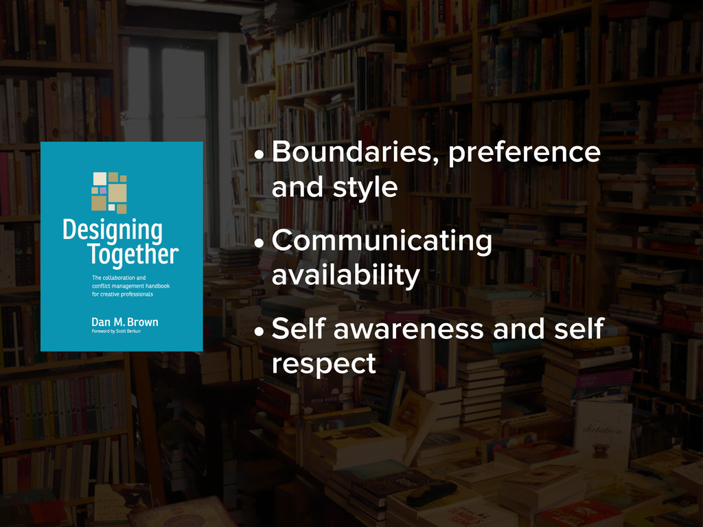 •Boundaries, preference and style •Communicatin...