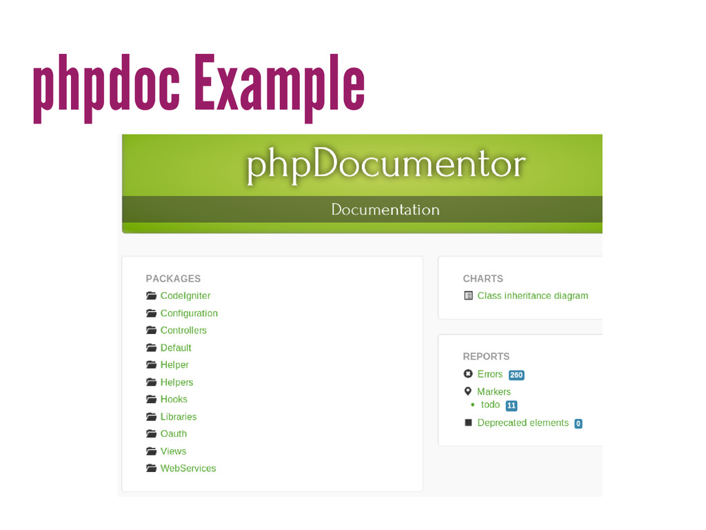 phpdoc Example