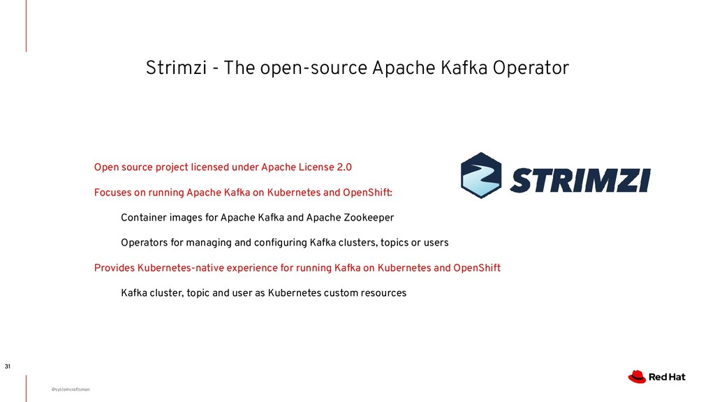 Strimzi - The open-source Apache Kafka Operator...