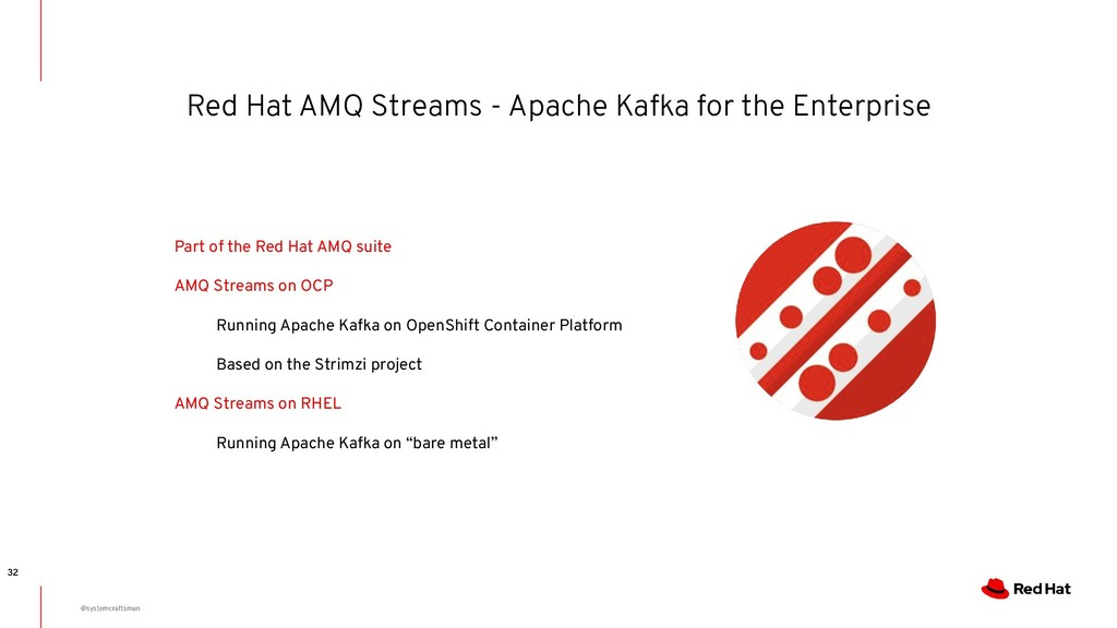 Red Hat AMQ Streams - Apache Kafka for the Ente...