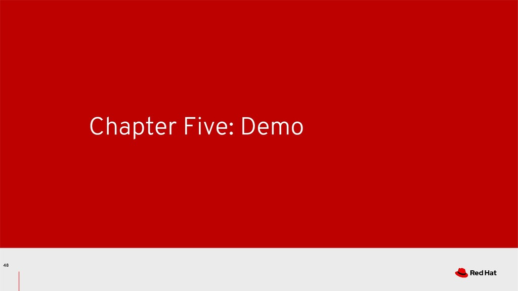 Chapter Five: Demo 48