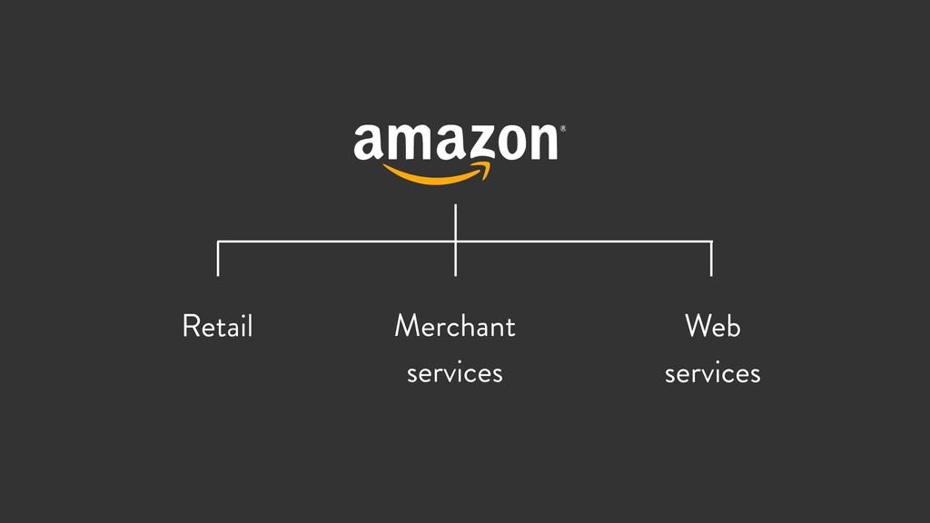 Retail Merchant services Web services