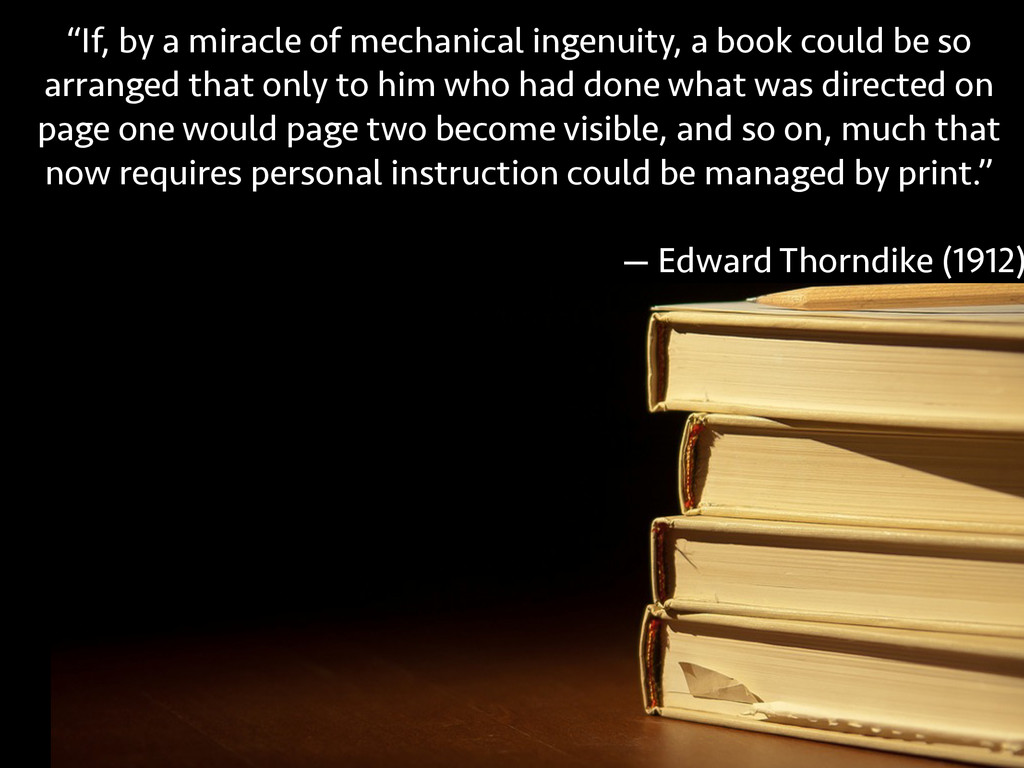 """""""If, by a miracle of mechanical ingenuity, a bo..."""