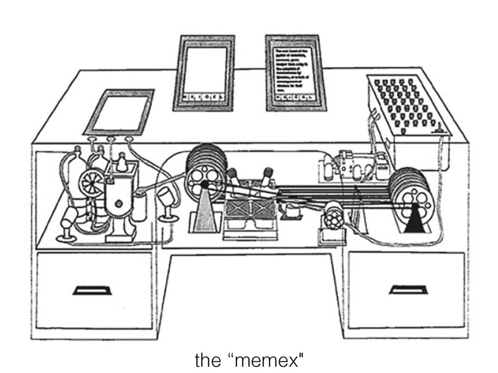 """the """"memex"""""""