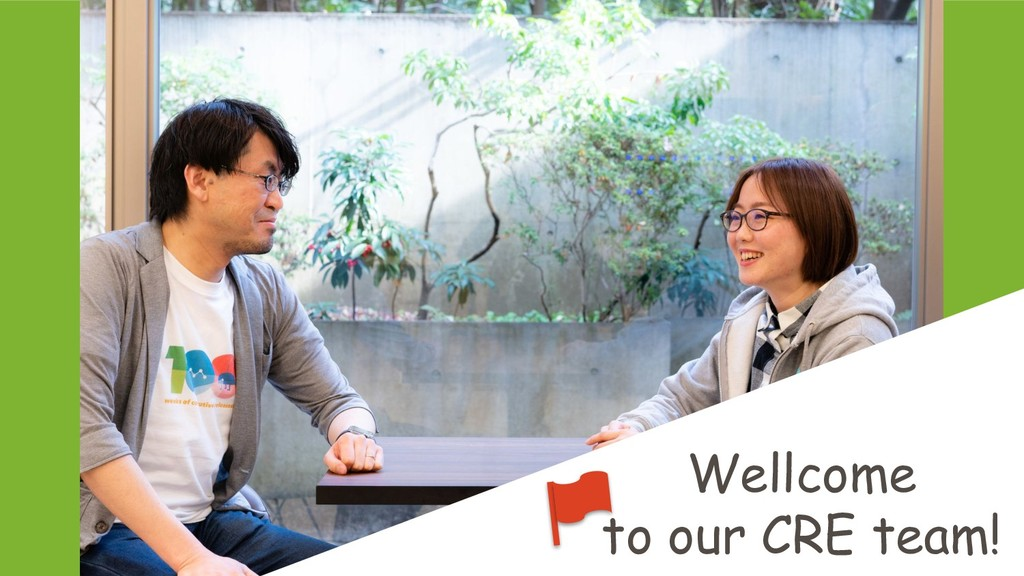 Wellcome to our CRE team!