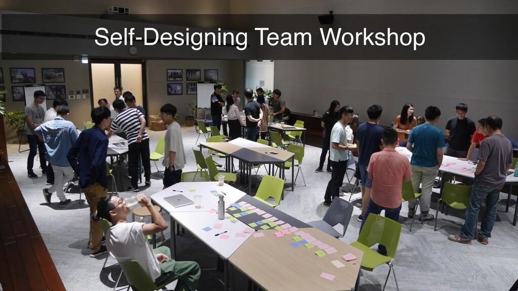 17 Self-Designing Team Workshop