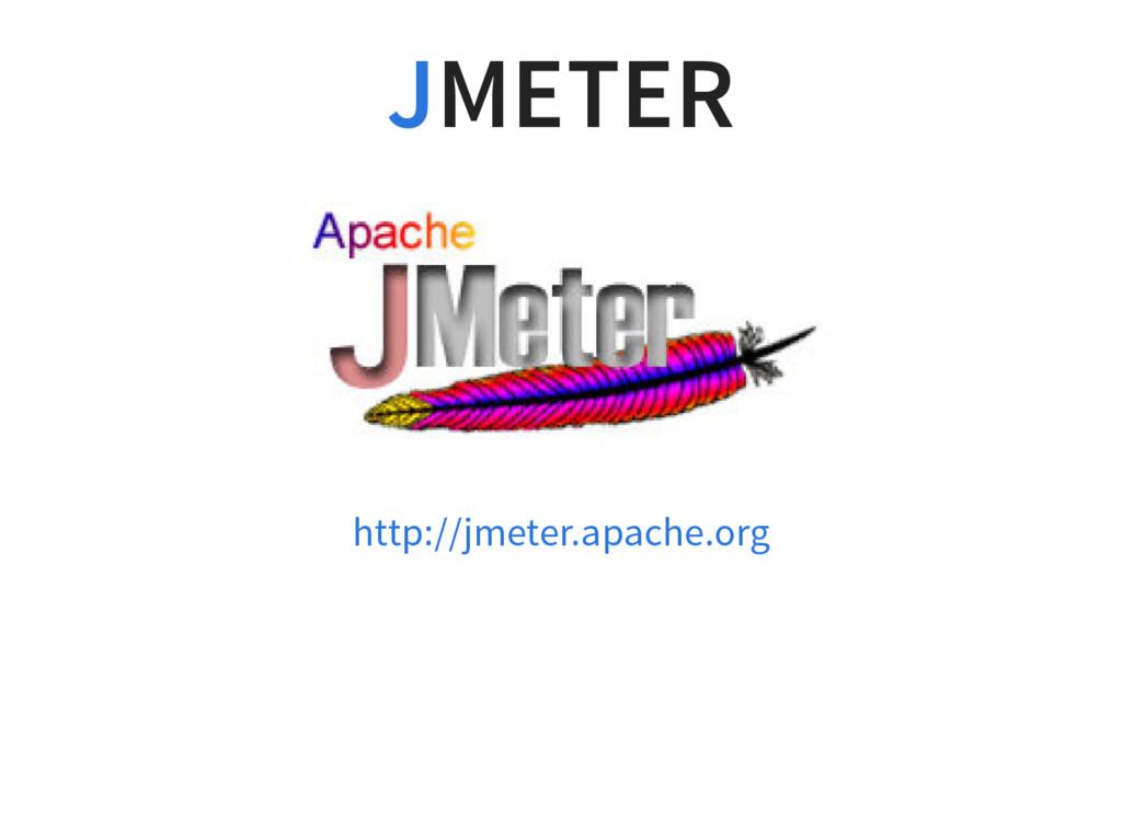 METER J http://jmeter.apache.org