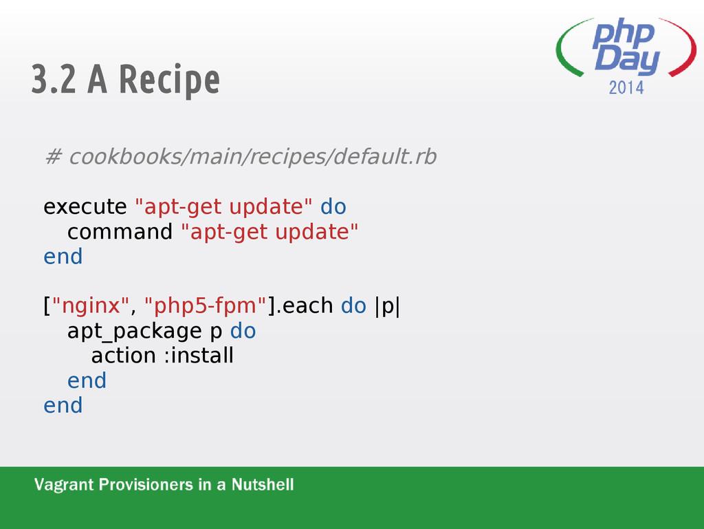 3.2 A Recipe # cookbooks/main/recipes/default.r...