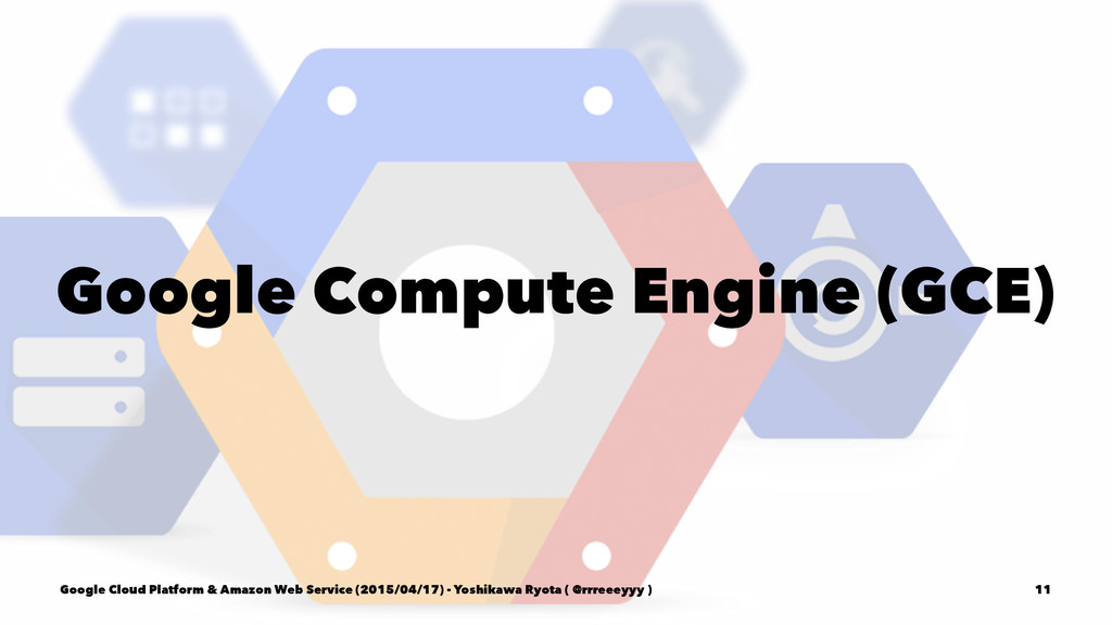 Google Compute Engine (GCE) Google Cloud Platfo...