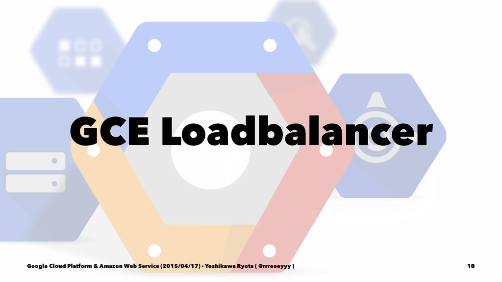 GCE Loadbalancer Google Cloud Platform & Amazon...