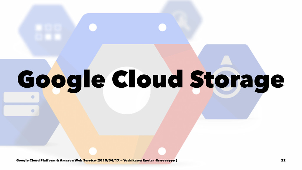 Google Cloud Storage Google Cloud Platform & Am...