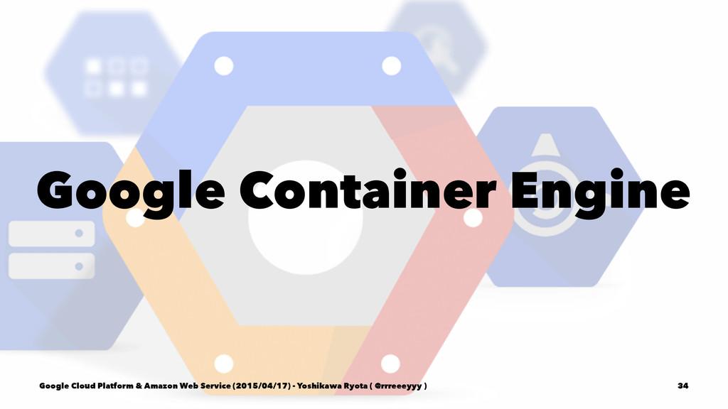 Google Container Engine Google Cloud Platform &...