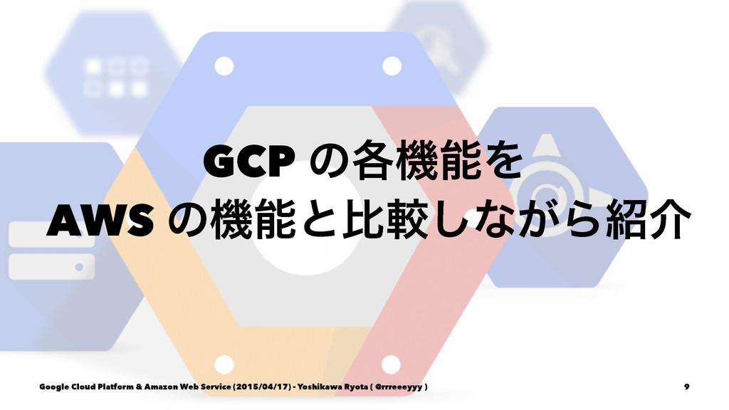 GCP ͷ֤ػΛ AWS ͷػͱൺֱ͠ͳ͕Βհ Google Cloud Platfor...