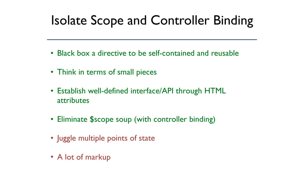 Isolate Scope and Controller Binding • Black bo...