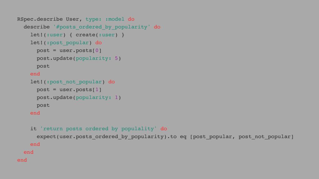 RSpec.describe User, type: :model do describe '...