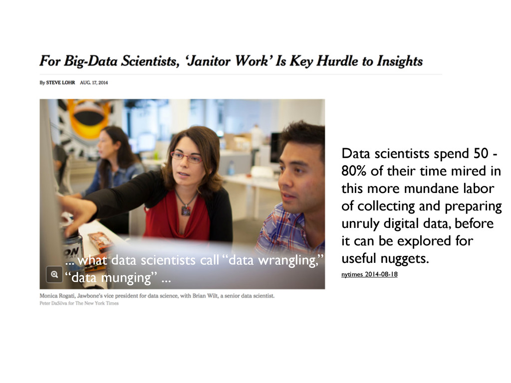 nytimes 2014-08-18 Data scientists spend 50 - 8...