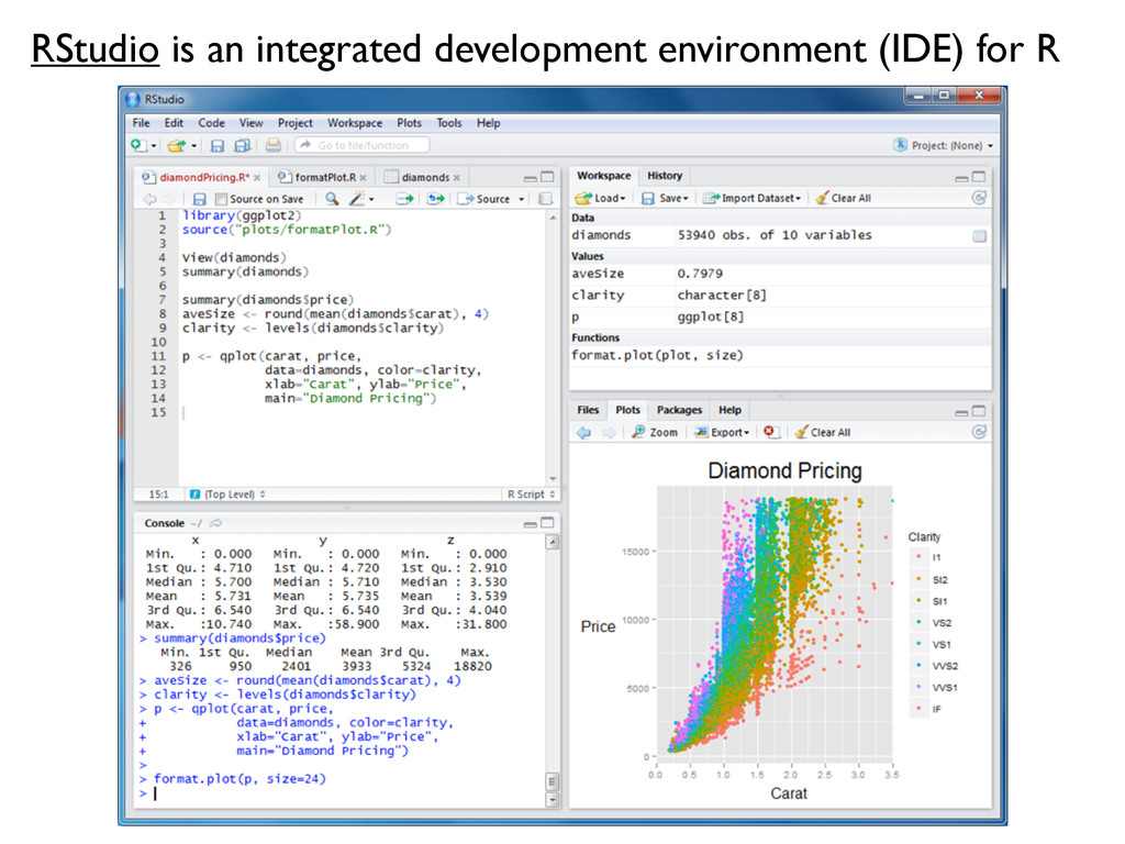 RStudio is an integrated development environmen...