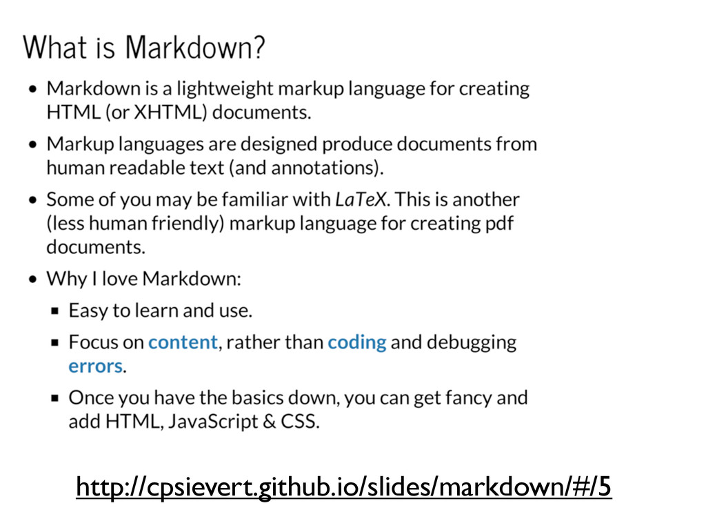 http://cpsievert.github.io/slides/markdown/#/5