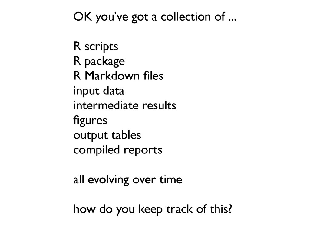 OK you've got a collection of ... R scripts R p...