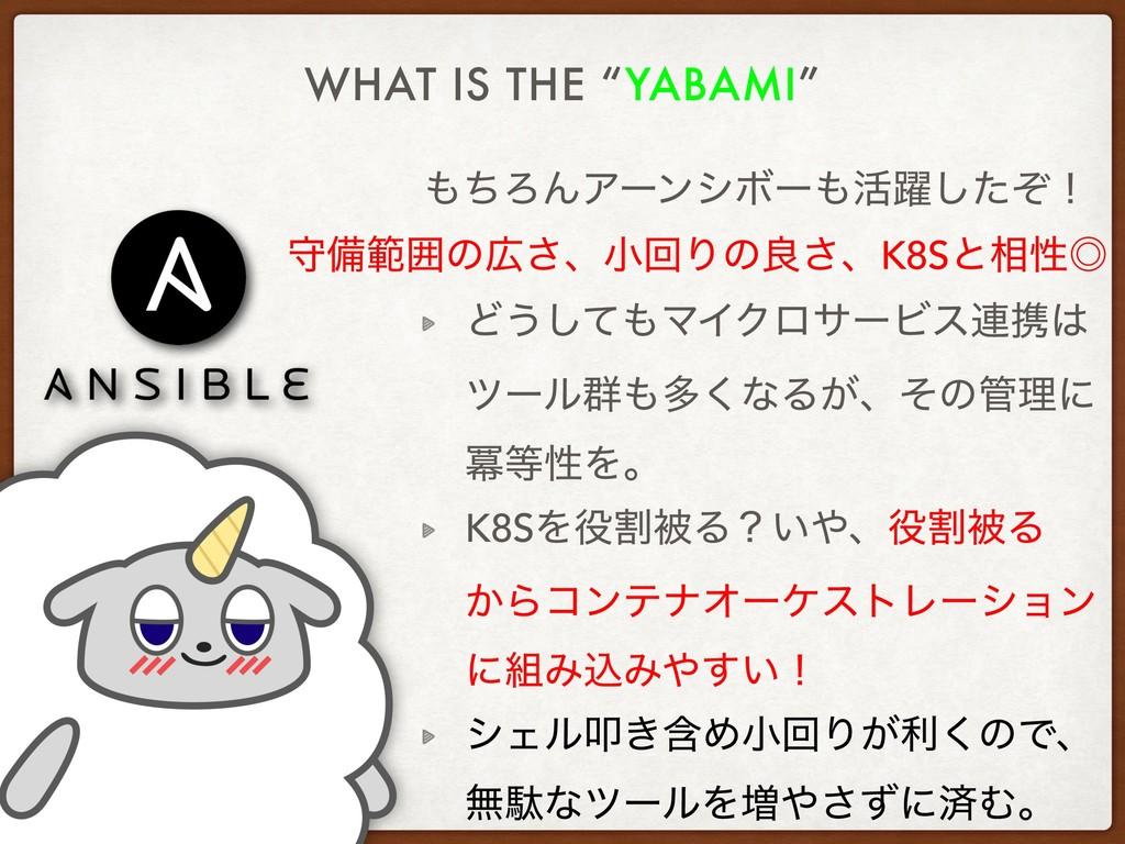 """WHAT IS THE """"YABAMI"""" ͪΖΜΞʔϯγϘʔ׆༂ͨͧ͠ʂ Ͳ͏ͯ͠ϚΠΫ..."""