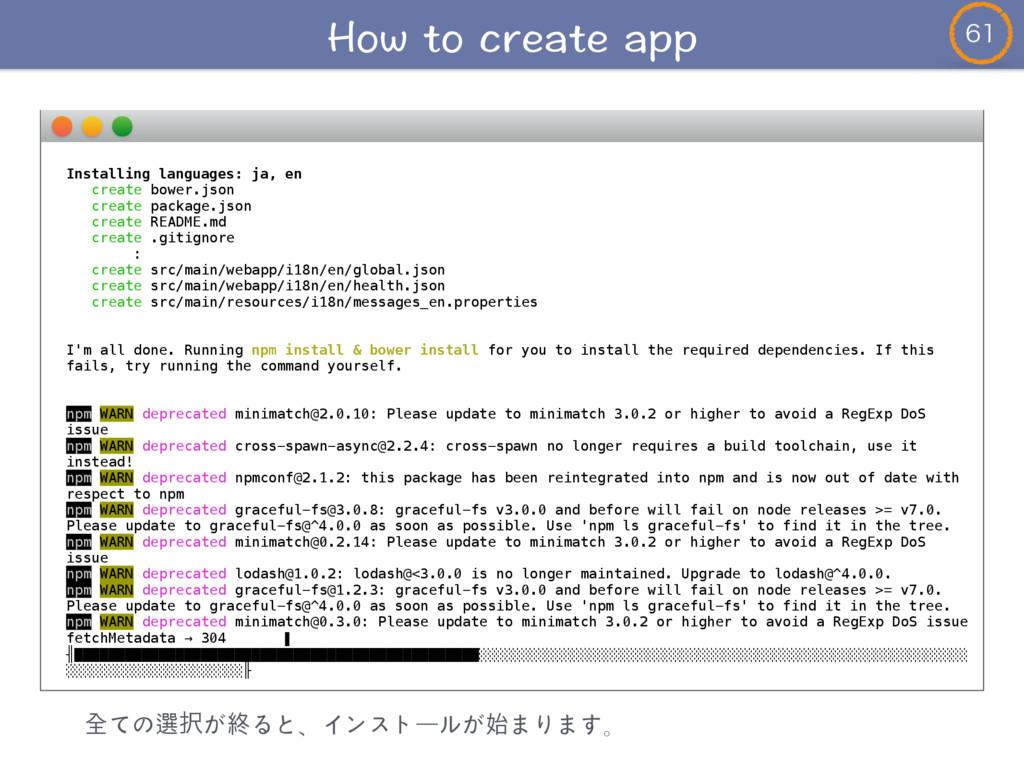 Installing languages: ja, en create bower.js...