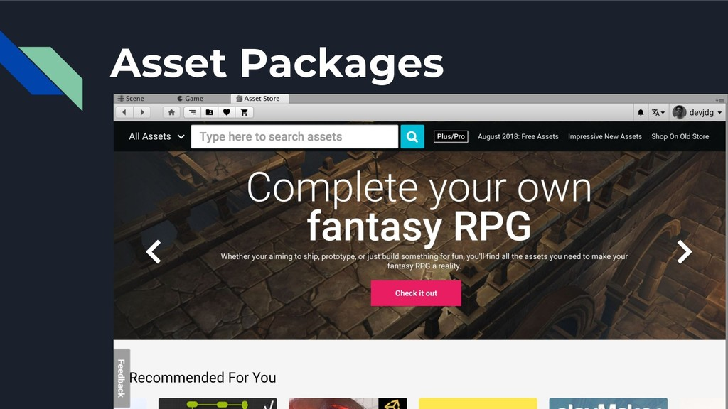 Asset Packages