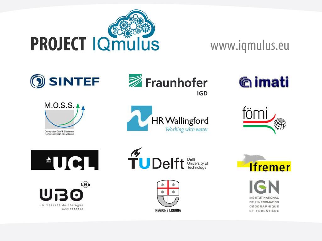 PROJECT www.iqmulus.eu IQmulus