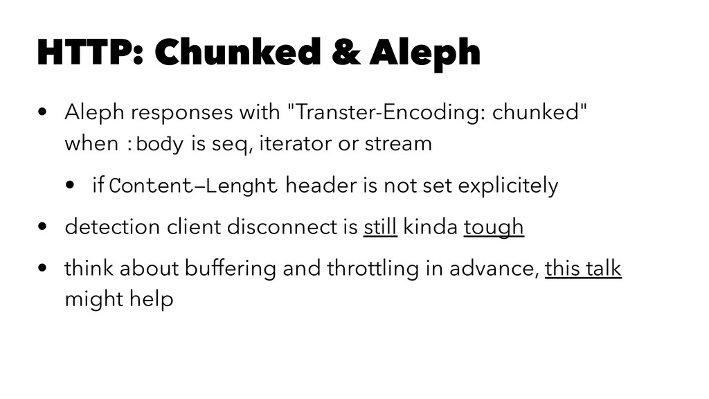 "HTTP: Chunked & Aleph • Aleph responses with ""T..."