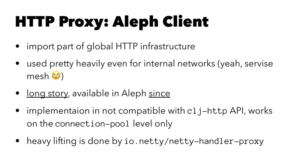 HTTP Proxy: Aleph Client • import part of globa...
