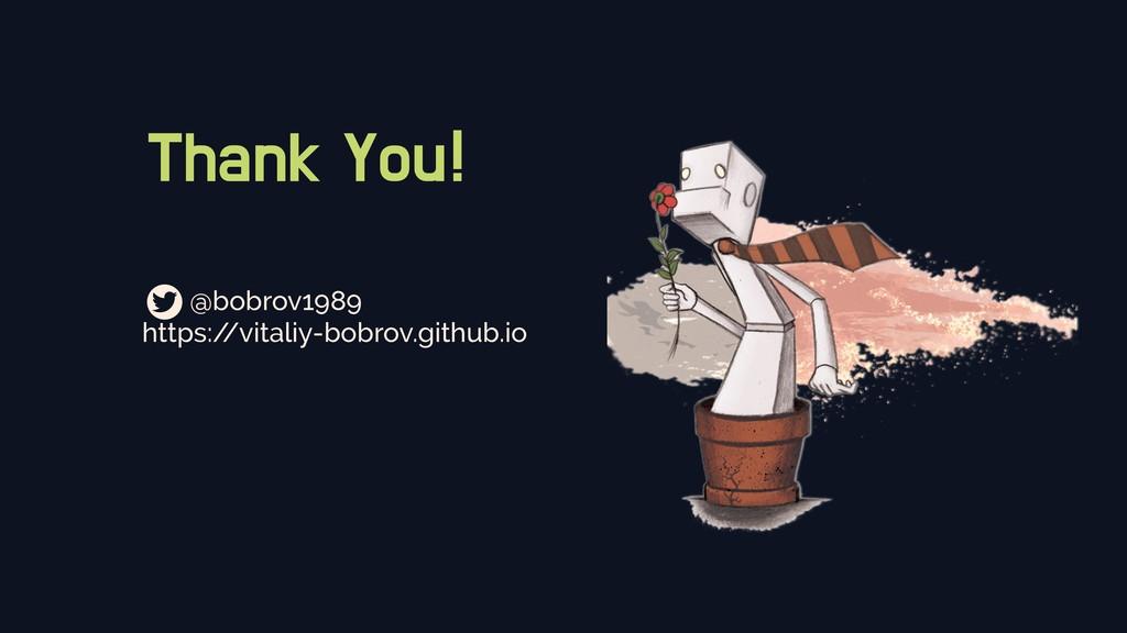 Thank You! @bobrov1989 https:/ /vitaliy-bobrov....