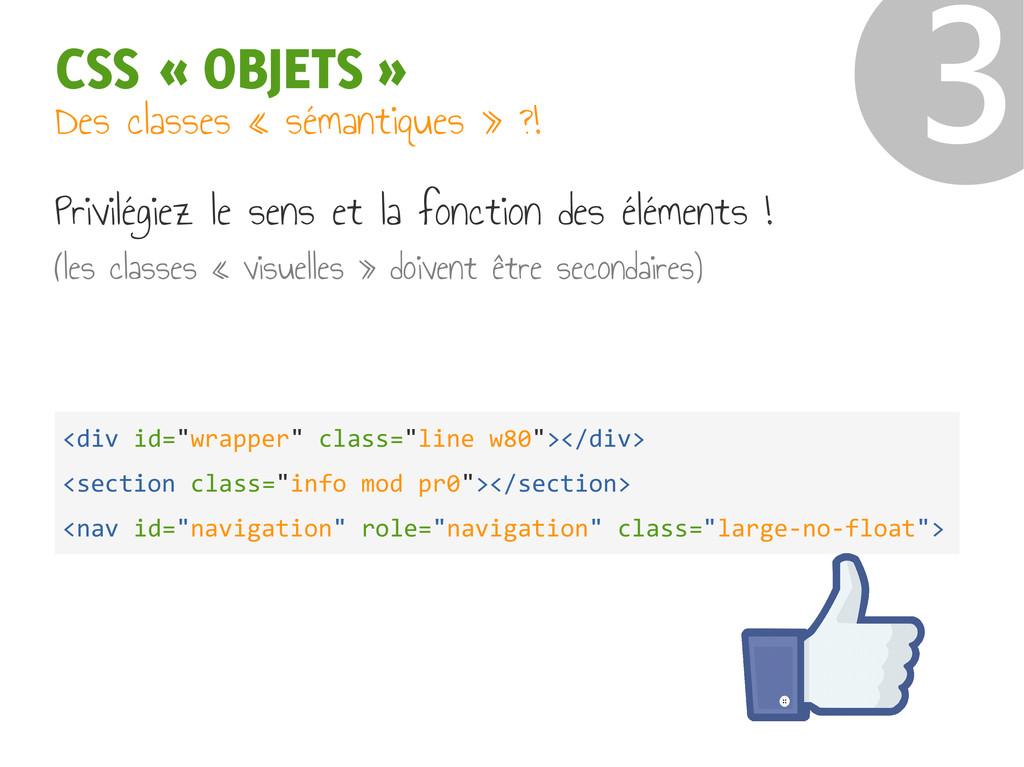 "CSS « OBJETS » ❸ <div id=""wrapper"" class=""line ..."