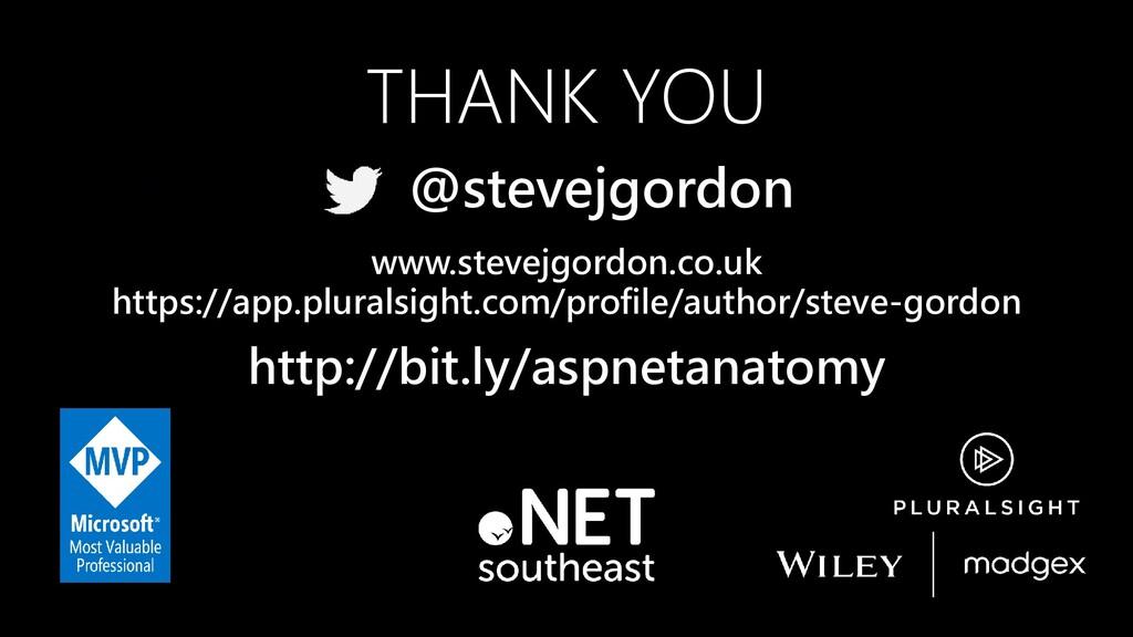 THANK YOU www.stevejgordon.co.uk https://app.pl...
