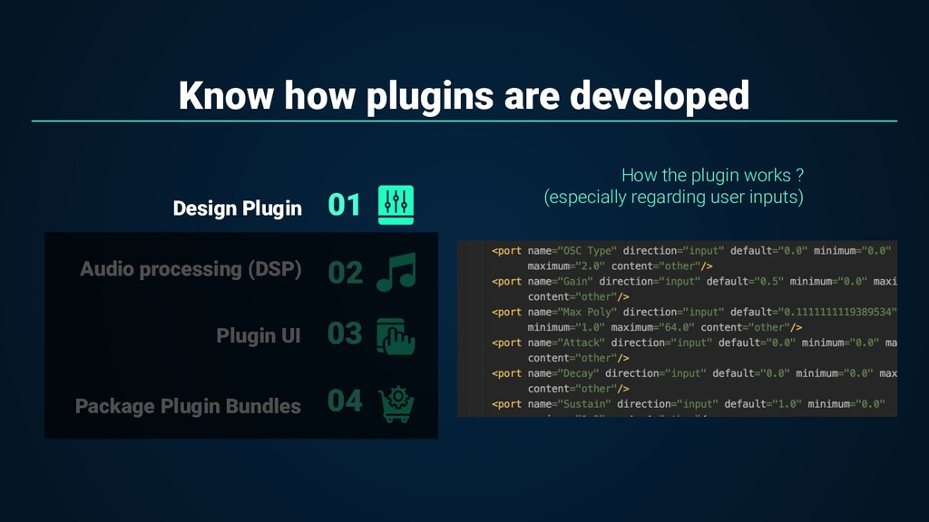 Know how plugins are developed 01 02 Audio proc...